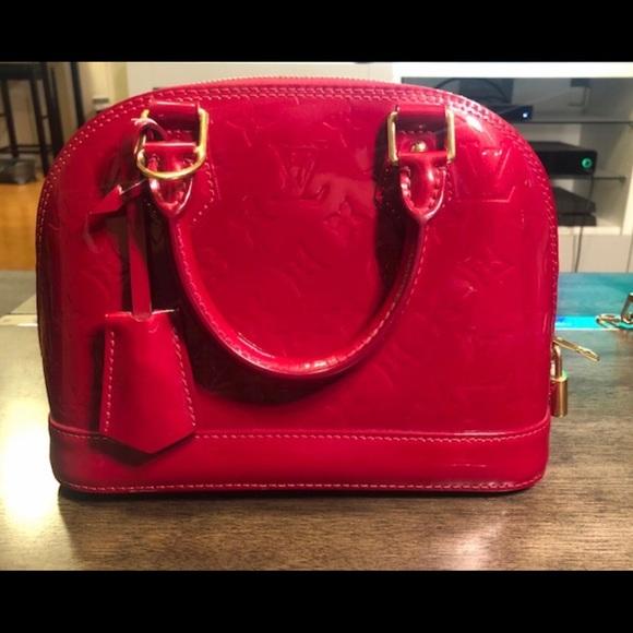 Louis Vuitton Handbags - Louis Vuitton Authentic Alma BB Monogram Vernis